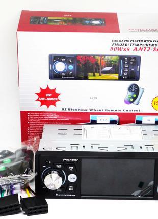 Магнитола Pioneer 4229 ISO  - экран 4,1''+ DIVX + MP3 + USB + SD