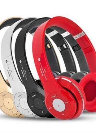 Наушники беспроводные Bluetooth Monster Beats Solo S460 c Мощным