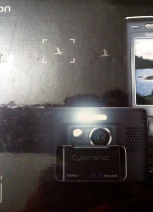 Мобильный телефон Sony Erycsson K790i с богатой комплектацией