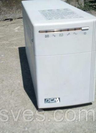 (UPC, УПС, ИБП )Powercom kin-1500ap подключение внешнего АКБ