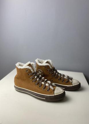 Утепленные ботинки converse