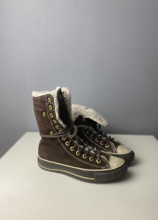 Утепленные converse boots