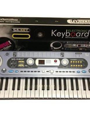 Детское пианино, синтезатор MQ020FM, FM радио, микрофон