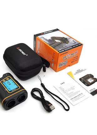 Лазерный дальномер SNDWAY SW-800B спидометр угломер LCD 800м