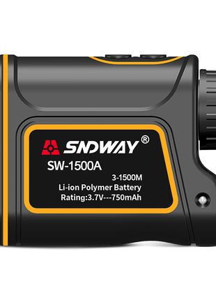 Лазерный дальномер монокуляр SNDWAY SW-1500A