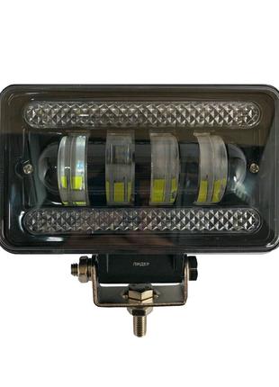 Фара Дополнительная Лидер 60W (ближний свет) + ходовые огни
