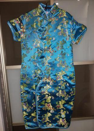 Карнавальный костюм платье в китайском стиле