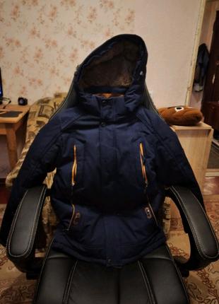 Куртка парка на 10-12 лет