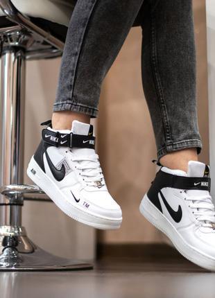 Женские Зимние кроссовки на меху Nike air force