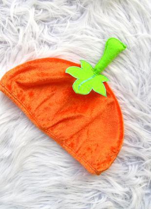 Карнавальная шапка тыква tu halloween