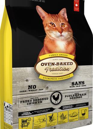 Oven-Baked Tradition Канадский корм для котов  c курицей 4, 54 Кг