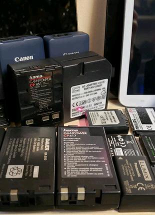 Аккумулятор зарядное устройство для видеокамеры фотоаппарата