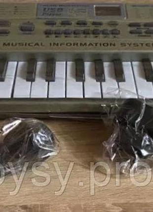 Детский орган синтезатор пианино MQ816USB, Mp3, микрофон, 61 клав