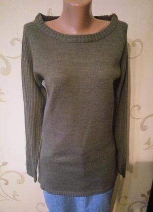 Only . классный шерстяной свитер джемпер кардиган