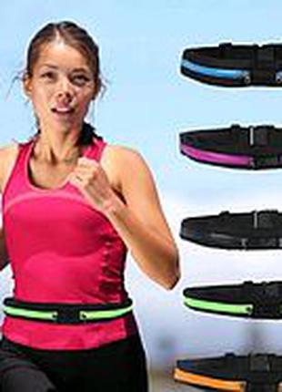 Спортивная сумка на пояс для бега Go Runners Pocket Belt