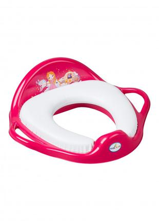 """Накладка на унитаз Tega Baby мягкая """"Little Princess"""""""