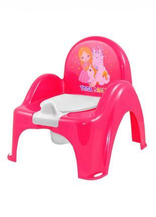 """Горшок-стульчик Tega Baby музыкальный """"Little Princess"""""""