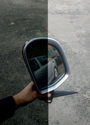 Зеркало ліве підсвітка skoda octavia A5 FL рестайлінг