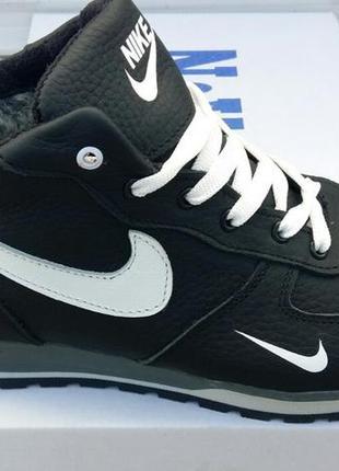 Ботинки/кроссовки натуральная кожа nike