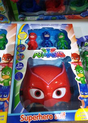 Герои в масках, PJ Masks, Кэтбой, Аллет, Гекко