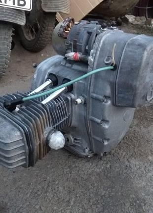 Двигатель МТ Днепр 10-36, работающий, комплектный, пробег 7653км!