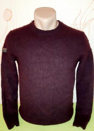 Теплый свитер гранатового цвета superdry, 💯 оригинал, молниено...
