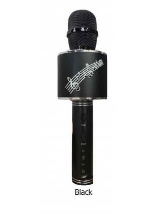 Беспроводной Микрофон Караоке Bluetooth DM Karaoke YS 66 черный