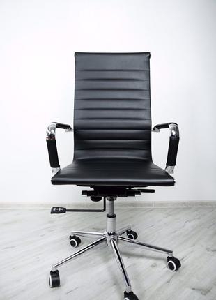 Офісне крісло Офисное кресло Slim Black