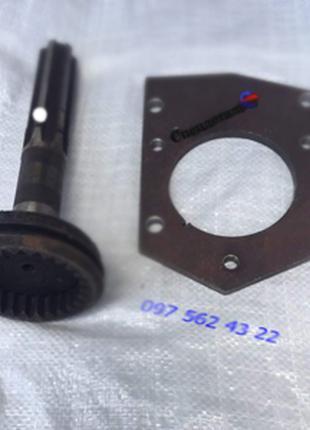 Комплект переоборудования юмз под стартер вал редуктора и плита