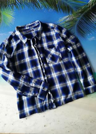 Рубашка большой размер вискоза