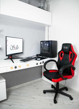 Геймерське крісло Геймерское кресло Комп'ютерне кріслоSidloOptima