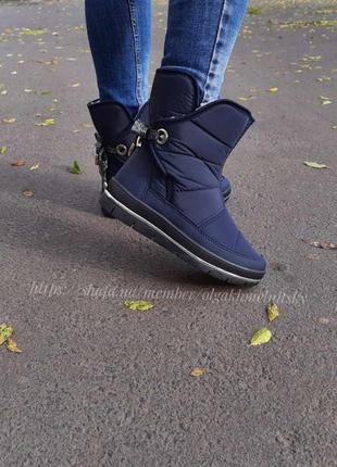 Дутики женские зимние ботинки на меху 37-42