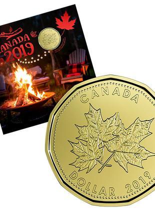Подарочный набор канадских монет 'О Канада' 2019