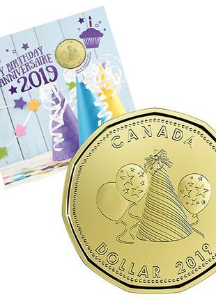 Подарочный набор канадских монет 'Happy Birthday' 2019