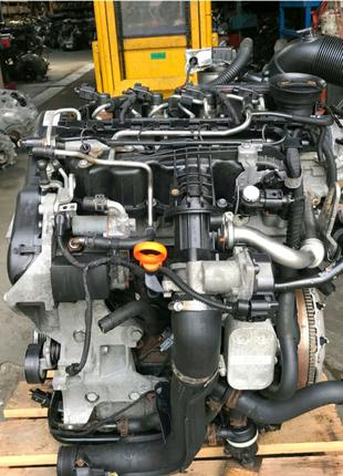 Мотор 1.6 TDI форсунка тнвд турбина EGR патрубок SKODA AUDI VW