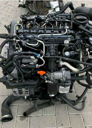 Мотор 1,6 TDI volkcwagen skoda audi siat кпп турбина форсунка