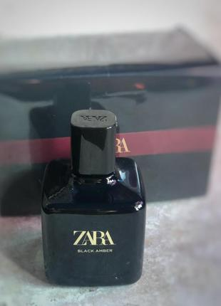 Духи zara black amber /парфюм /парфуми /туалетна вода