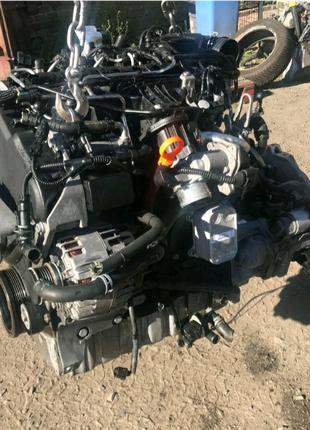 Мотор 2,0 tdi cff акпп турбина форсунка passat b6 b7 skoda caddy