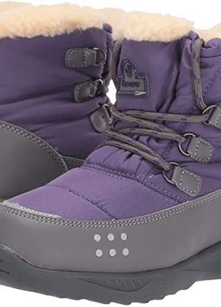 Зимние ботинки снегоходы Bearpaw 34 размер стелька 23 см на ов...