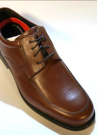 Rockport charlesroad мужские кожаные туфли 42 44.5 45 46 46.5 47