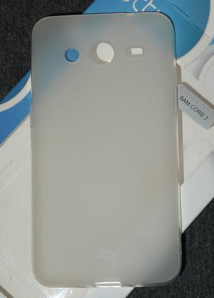 Чехол Utty для Samsung G355 Core 2 белый 0189