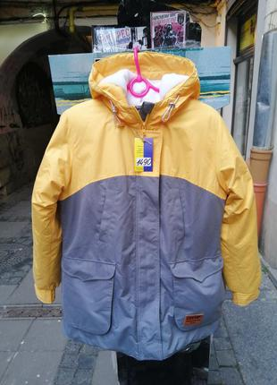 Куртка женская зимняя olymp парка длинная пальто