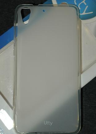 Чехол Utty для HTC Desire 728 белый 0203
