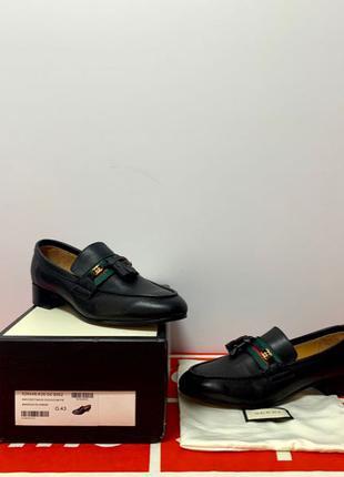 Туфли кожанные Gucci 1:1 Люкс Dior Balenciaga Louis Vuitton