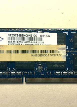 Модуль оперативной памяти 2GB Производитель: Nanya .