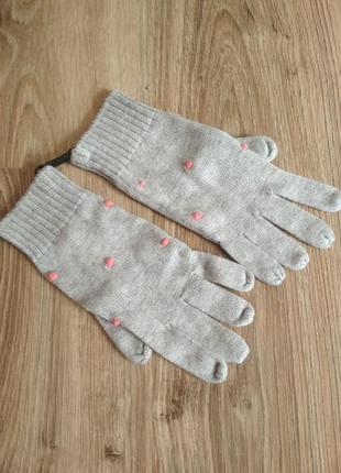 Перчатки рукавицы для девочки 8-10 лет