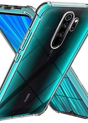 Противоударный прозрачный чехол Xiaomi Redmi Note 8 Pro