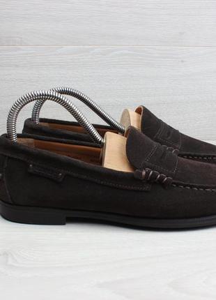 Замшевые туфли лоферы sebago оригинал, размер 38