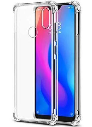 Противоударный прозрачный чехол Xiaomi Redmi Note 6 Pro