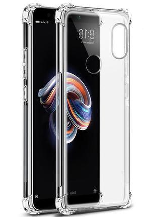 Противоударный прозрачный чехол Xiaomi Redmi Note 5